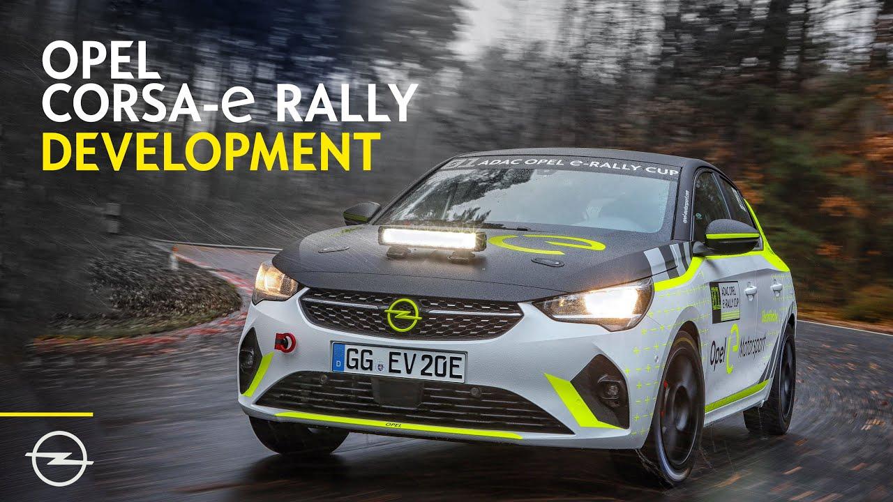 Video: Opel Corsa-E rally esimesed kilomeetrid