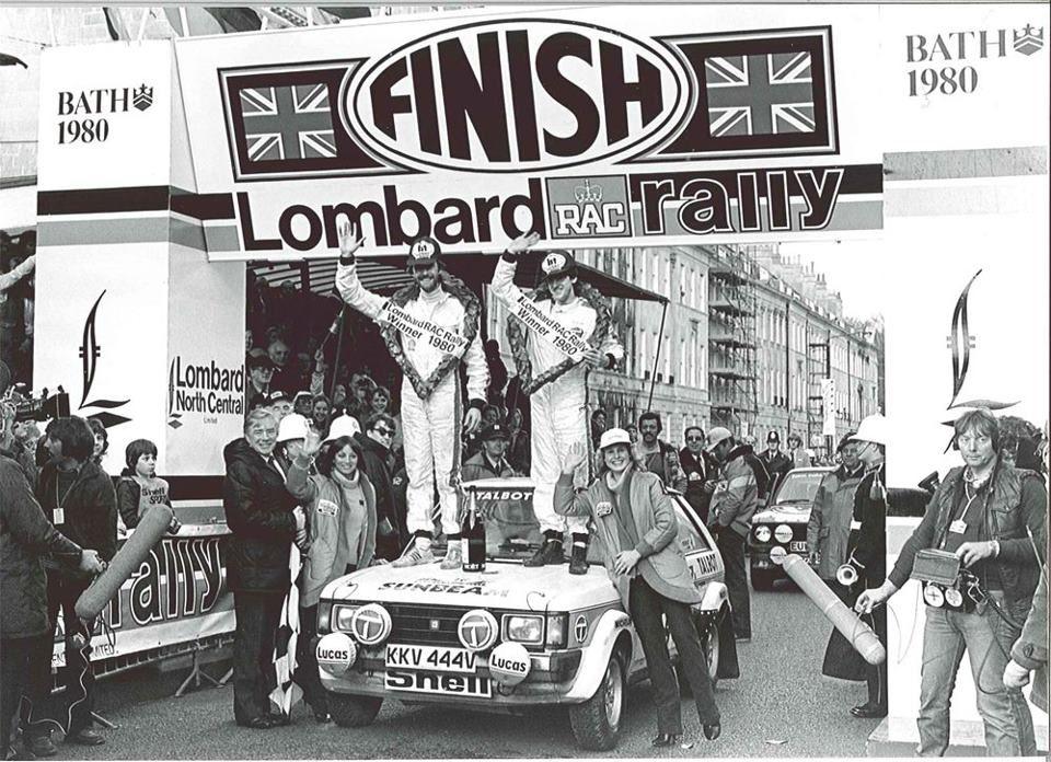 Henri Toivonen ja Paul White 1980 RAC Rallil