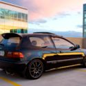 Honda Civic 1995. (Hatchback)